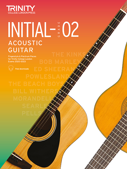 Acoustic Guitar Exam Pieces 2020-2023 Initial - 2: Acoustic Guitar: Instrumental