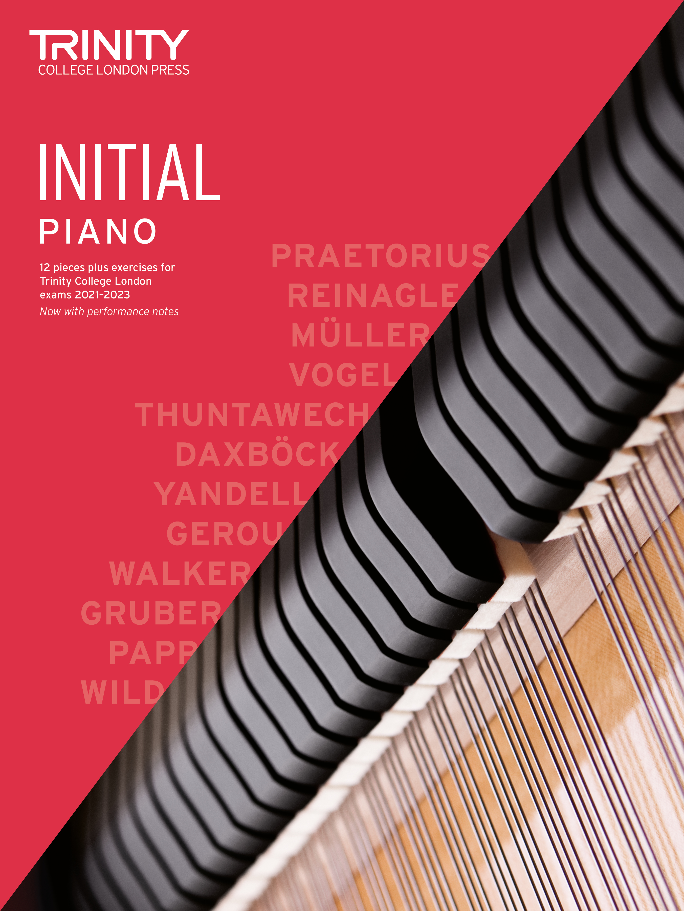 Piano Exam Pieces & Exercises 2021-2023: Initial: Piano: Instrumental Tutor