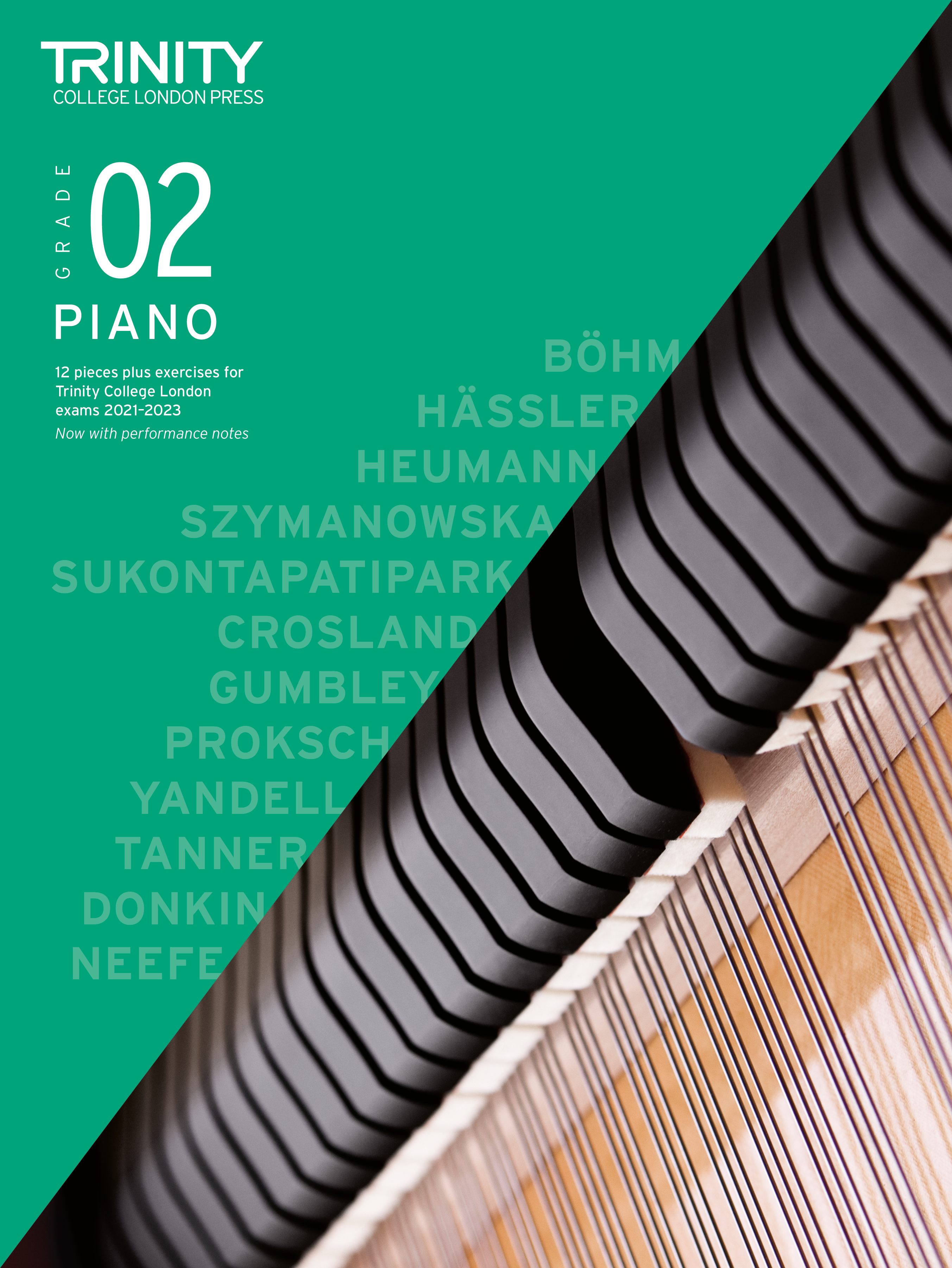Piano Exam Pieces & Exercises 2021-2023: Grade 2: Piano: Instrumental Tutor