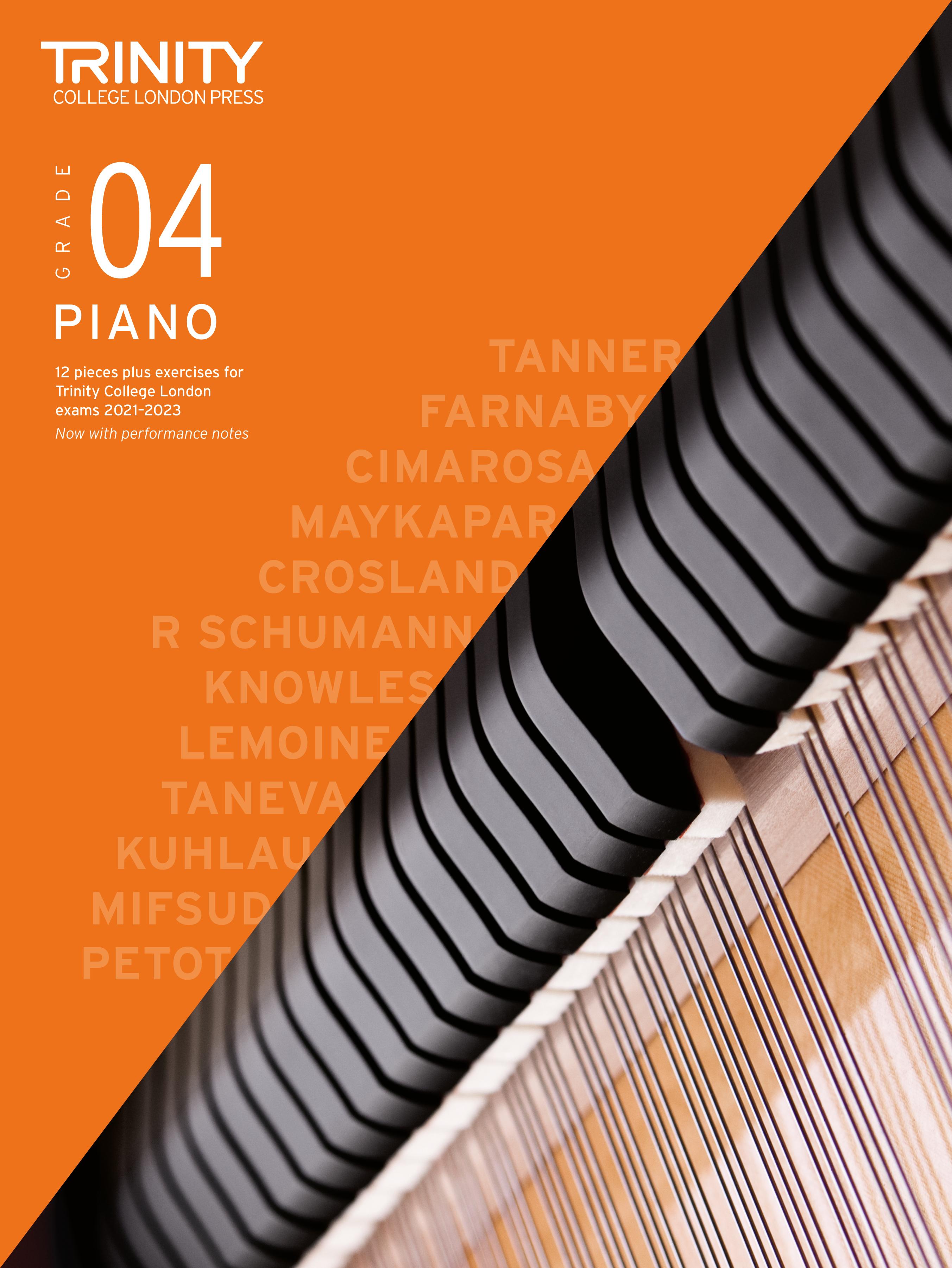 Piano Exam Pieces & Exercises 2021-2023: Grade 4: Piano: Instrumental Tutor