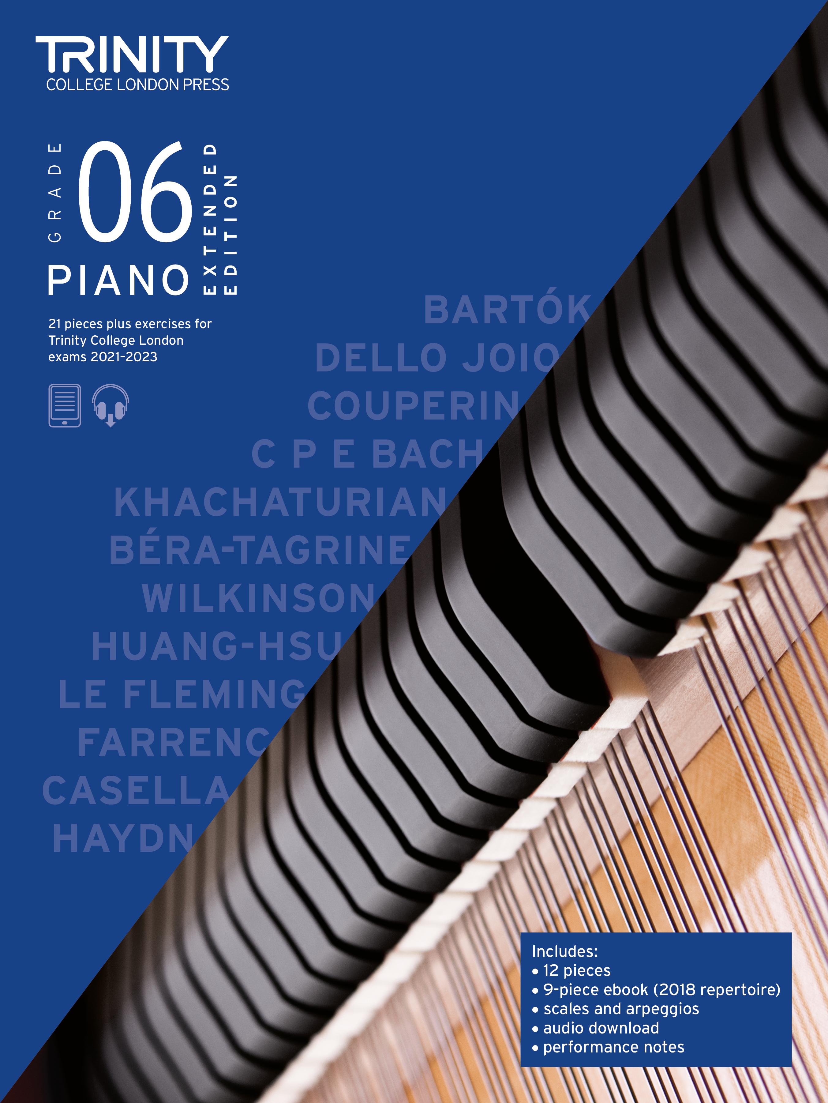 Piano Exam Pieces & Exercises 21-23 Grade 6 Ext Ed: Piano: Instrumental Tutor
