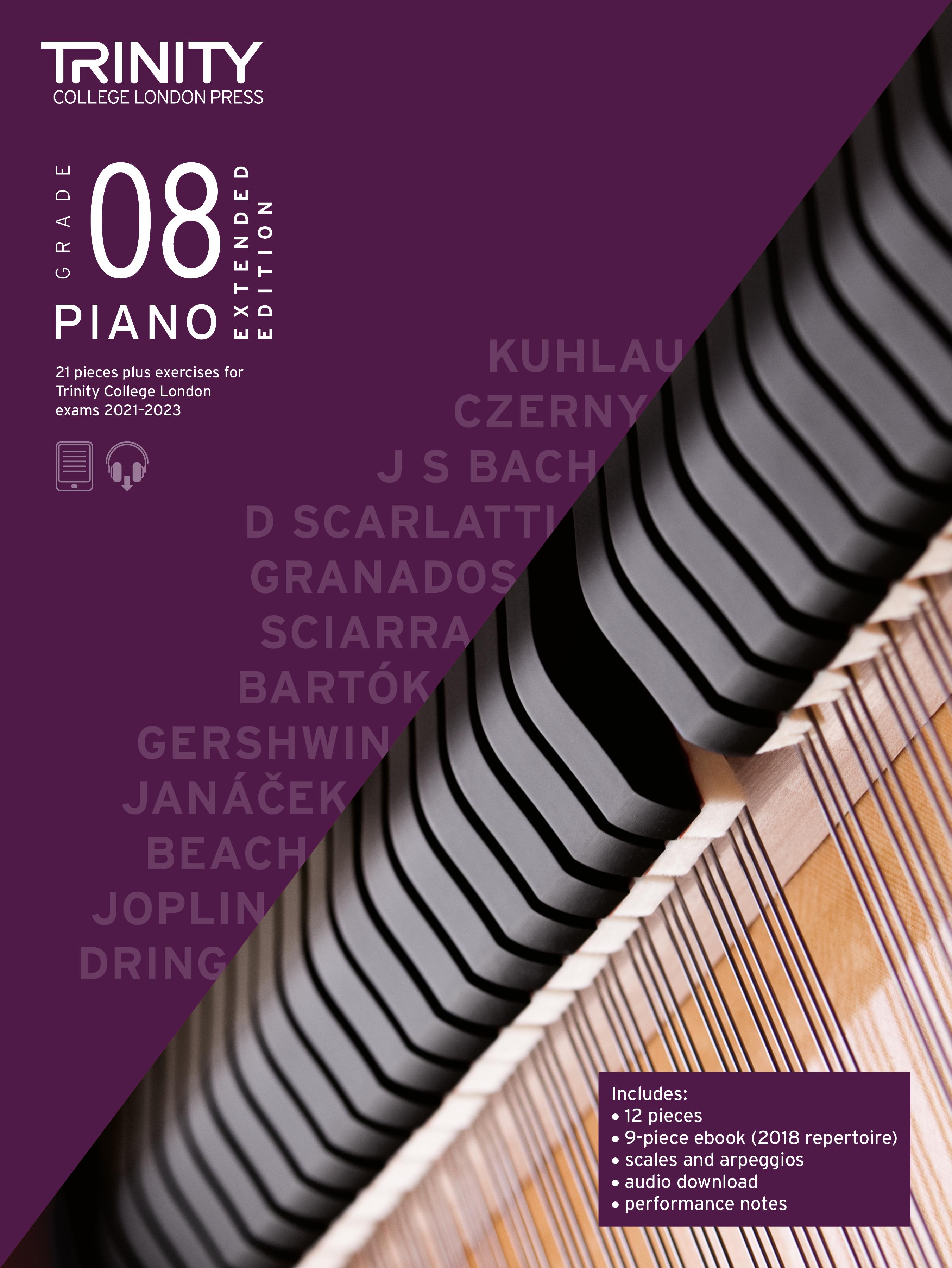 Piano Exam Pieces & Exercises 21-23 Grade 8 Ext Ed: Piano: Instrumental Tutor