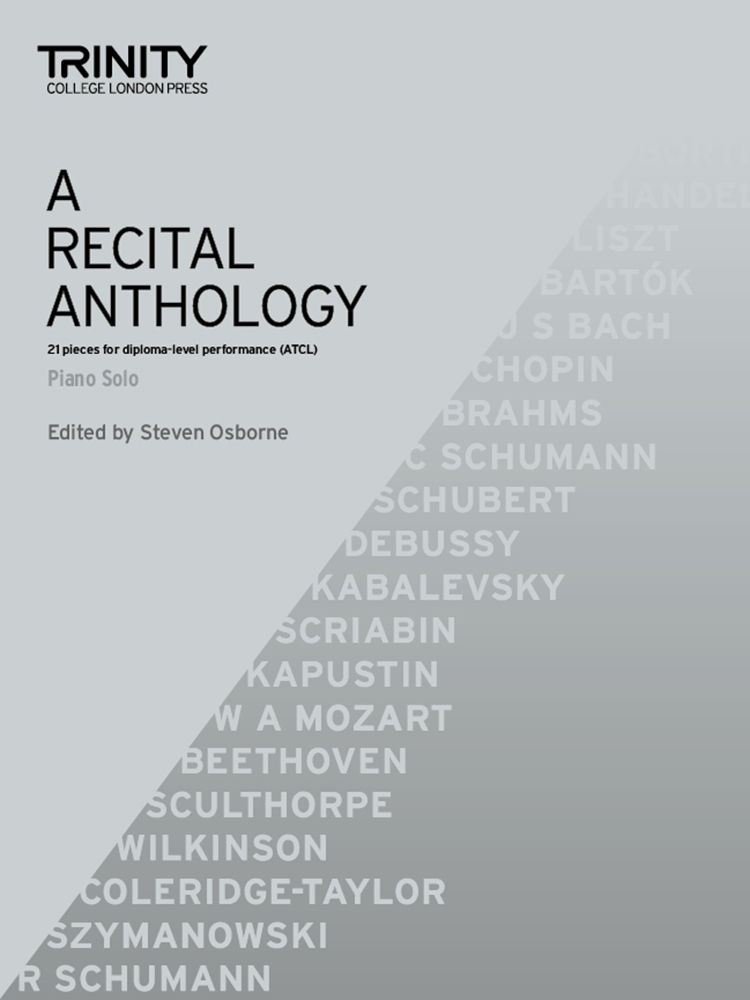 A Recital Anthology - Piano Solo: Piano: Instrumental Collection