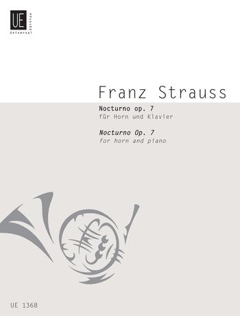 Franz Strauss: Nocturno Opus 7 ( Franz ): French Horn: Instrumental Work