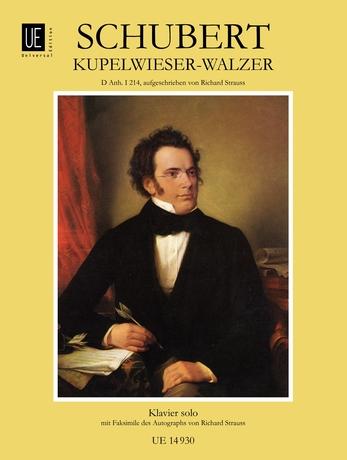 Franz Schubert: Waltz - Kupelwieser: Piano: Instrumental Work