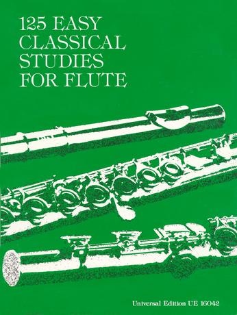 125 Easy Classical Studies for Flute: Flute: Instrumental Album