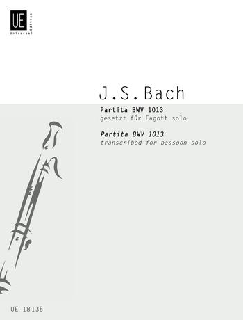 Johann Sebastian Bach: Partita BWV 1013: Bassoon: Instrumental Work