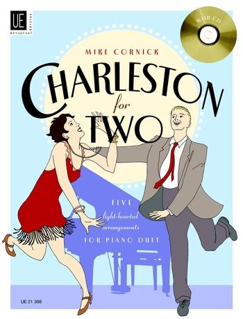 M. Cornick: Charleston For Two: Piano Duet: Instrumental Work