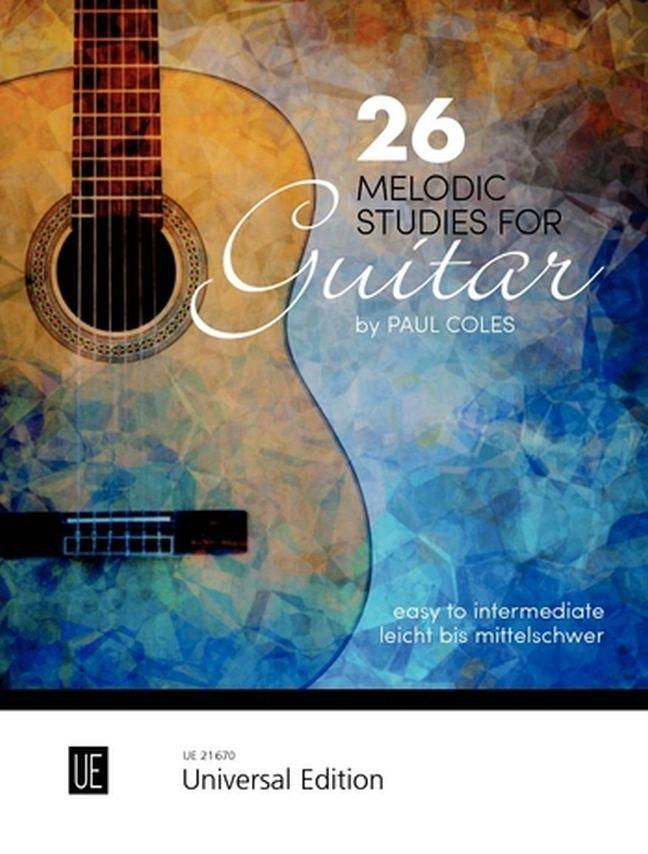 Paul Coles: 26 Melodic Studies: Guitar: Instrumental Album