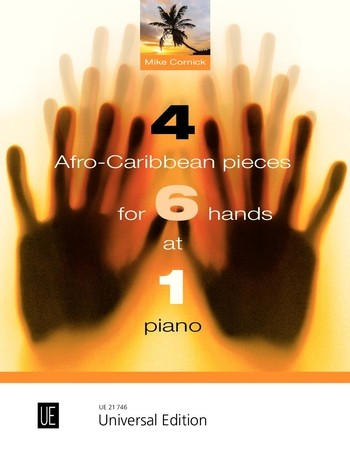 4 Afro-Caribbean Pieces for 6 Hands: Piano: Instrumental Album
