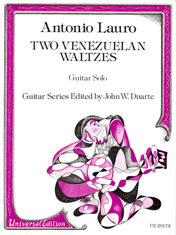 Antonio Lauro: 2 Venezuelan Waltzes: Guitar: Instrumental Work