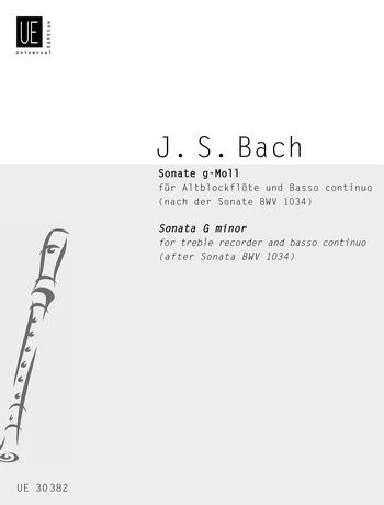 Johann Sebastian Bach: Sonata in G Minor for Treble Recorder and Continuo: