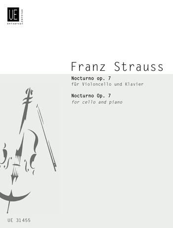 Franz Strauss: Nocturno: Cello: Instrumental Work