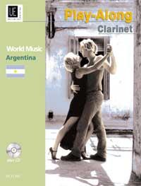 D. Collatti: Argentina - Play Along Clarinet: Clarinet: Instrumental Album