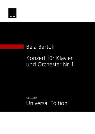 Béla Bartók: Concerto For Piano And Orchestra No.1: Piano: Study Score