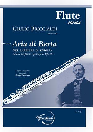 Giulio Briccialdi: Aria di Berta Op. 140: Flute and Accomp.: Instrumental Album