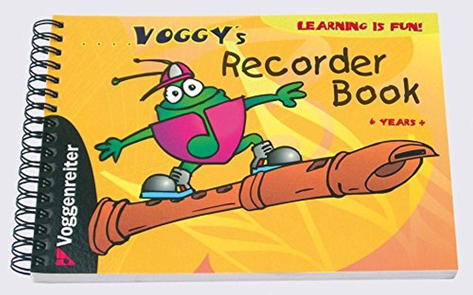 Martina Holtz: Voggy's Recorder Book: Descant Recorder: Instrumental Tutor