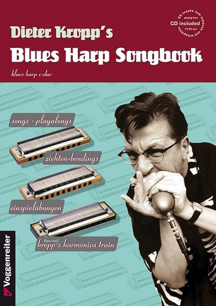 Dieter Kropp: Kropp's Blues Harp Songbook: Harmonica: Instrumental Tutor