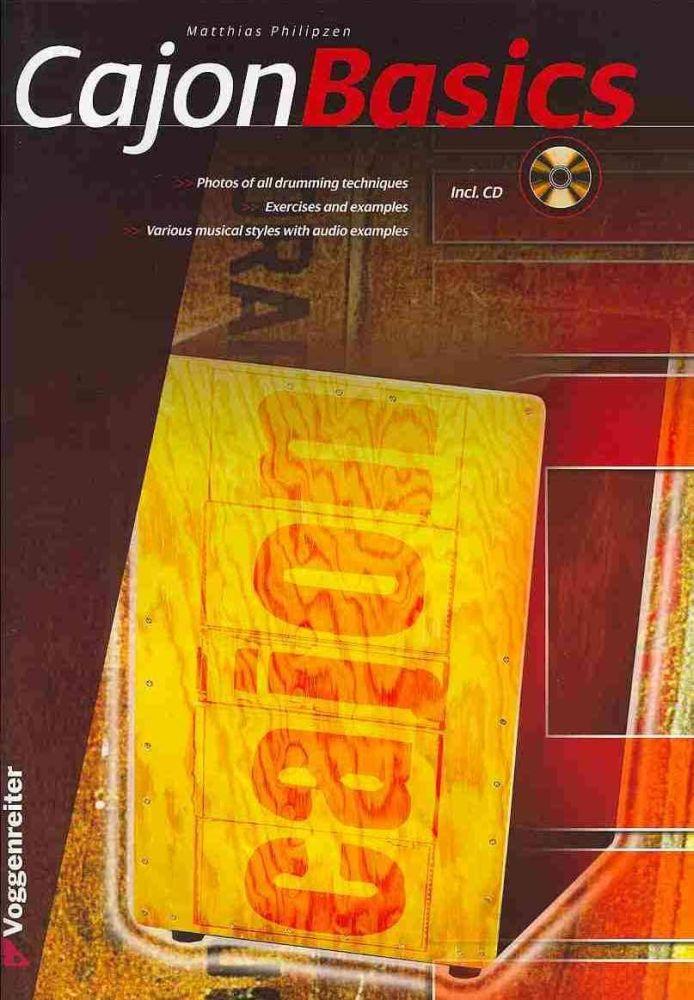 Matthias Philipzen: Basics Cajon: Cajon: Instrumental Tutor