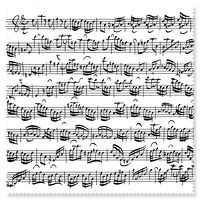 Glasses wipe Sheet music white: Accessory