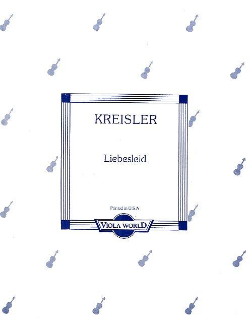 F. Kreisler: Liebeslied: Viola: Instrumental Album
