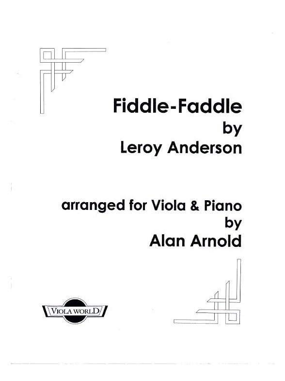 Leroy Anderson: Fiddle-Faddle: Viola: Instrumental Work