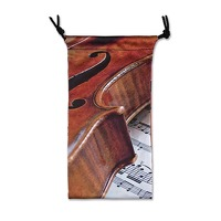 Glasses Case - Violin Sheet Music: Accessory