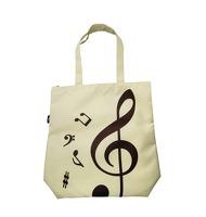 Wei I Plastics Co. Ltd. Treble Clef Tote Bag: Beige