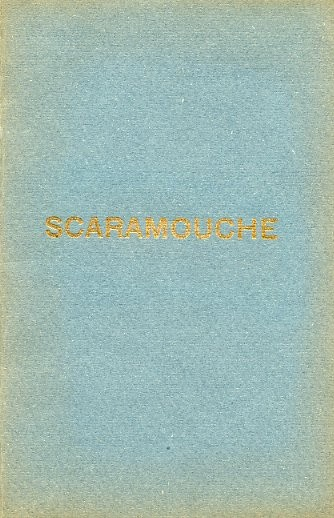 Jean Sibelius Poul Knudsen: Scaramouche Op.71: Libretto