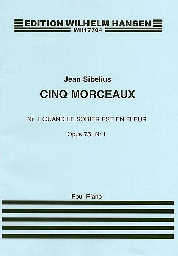 Jean Sibelius: Quand Le Sobier Est Un Fleur: Piano: Instrumental Work