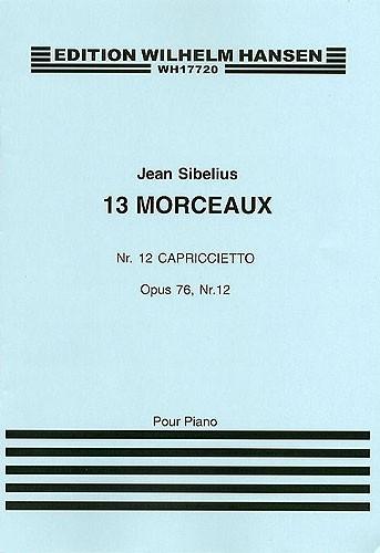 Jean Sibelius: 13 Pieces Op.76 No.12 'Capriccietto': Piano: Instrumental Work