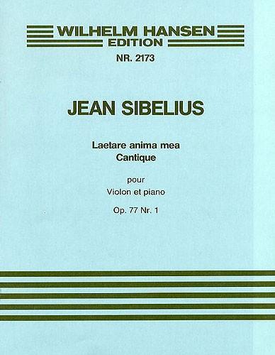 Jean Sibelius: Laetare Anima Mea Op.77 No.1: Piano Trio: Instrumental Work