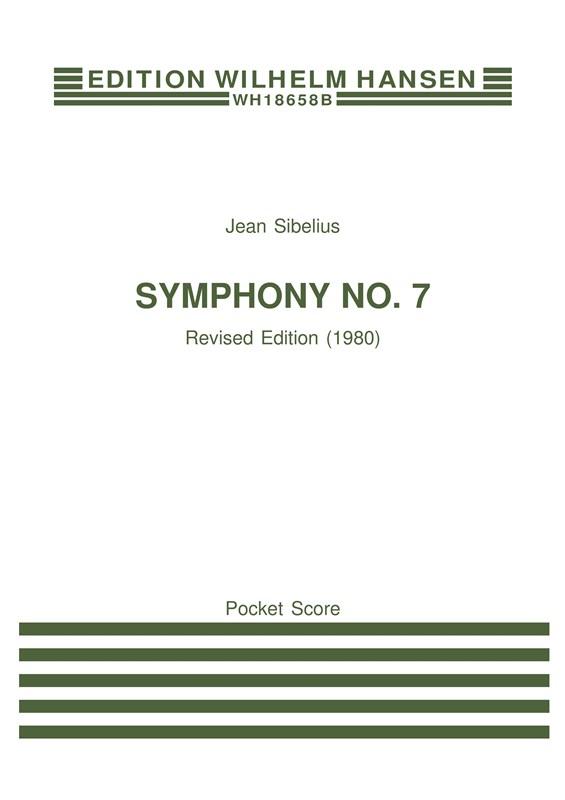 Jean Sibelius: Symphony No.7 Op.105: Orchestra: Study Score