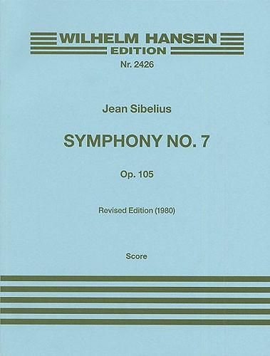 Jean Sibelius: Symphony No.7 Op.105: Orchestra: Score