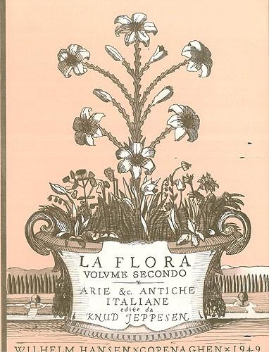Knud Jeppesen: Knud Jeppesen: La Flora - Volume 2: High Voice: Mixed Songbook
