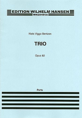 Niels Viggo Bentzon: Brass Trio Op.82: Brass Ensemble: Parts