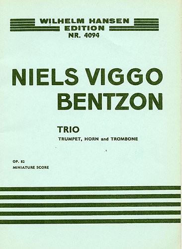 Niels Viggo Bentzon: Brass Trio Op.82: Brass Ensemble: Instrumental Work