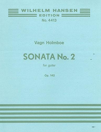 Vagn Holmboe: Sonata No. 2 Op. 142: Guitar