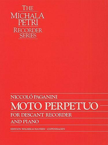 Michala Petri Niccolò Paganini: Moto Perpetuo: Recorder: Instrumental Work