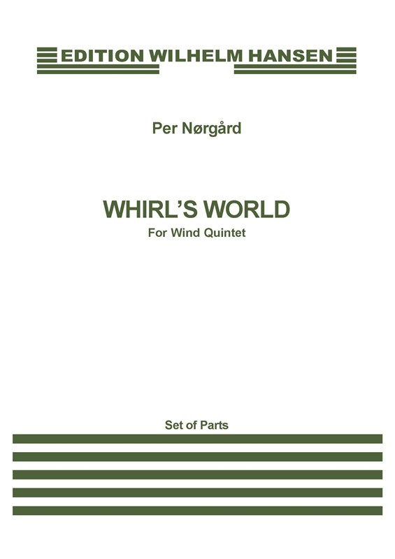 Per Nørgård: Whirl's World: Wind Ensemble: Parts