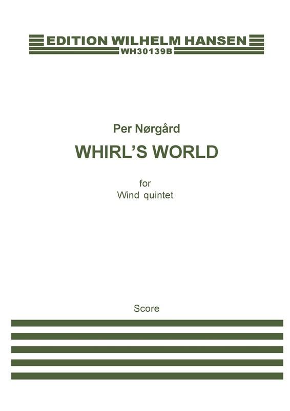 Per Nørgård: Whirl's World: Wind Ensemble: Score