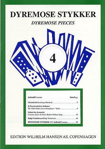 Jeanette Dyremose: Dyremose Pieces 4: Accordion: Instrumental Album