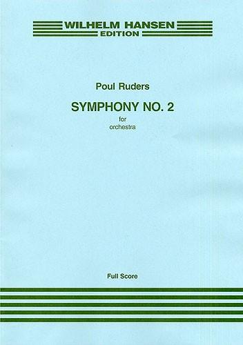 Poul Ruders: Symphony No.2: Orchestra: Score