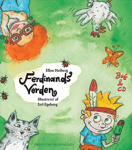 Klaus Brinch Franka Abrahamsen Ellen Heiberg: Ferdinands Verden: Album Songbook