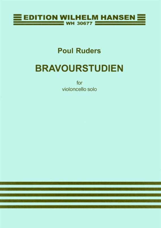 Poul Ruders: Bravourstudien: Cello: Instrumental Work