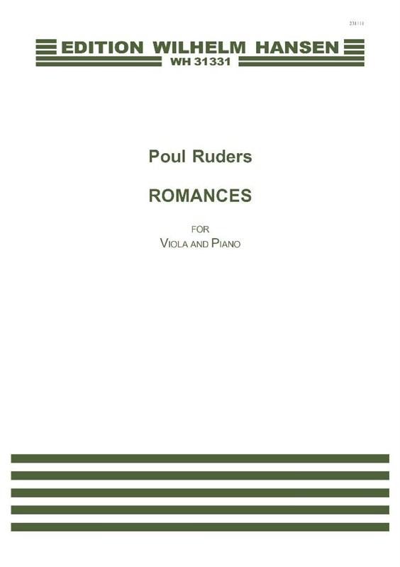 Poul Ruders: Romances: Viola: Score and Parts