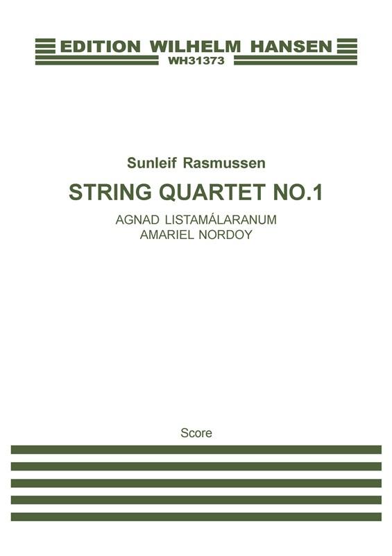Sunleif Rasmussen: String Quartet No. 1: String Quartet: Score
