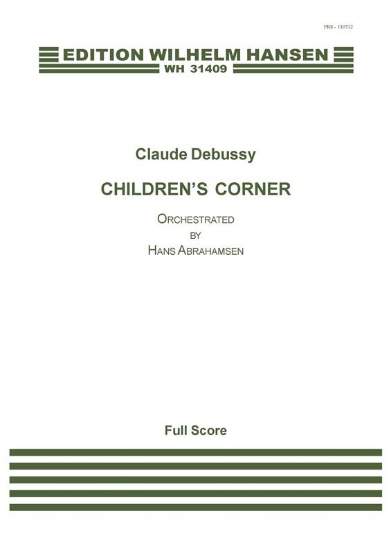 Claude Debussy: Children's Corner: Orchestra: Score