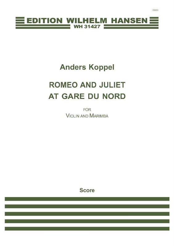 Anders Koppel: Romeo And Juliet At Gare Du Nord: Mixed Duet: Score
