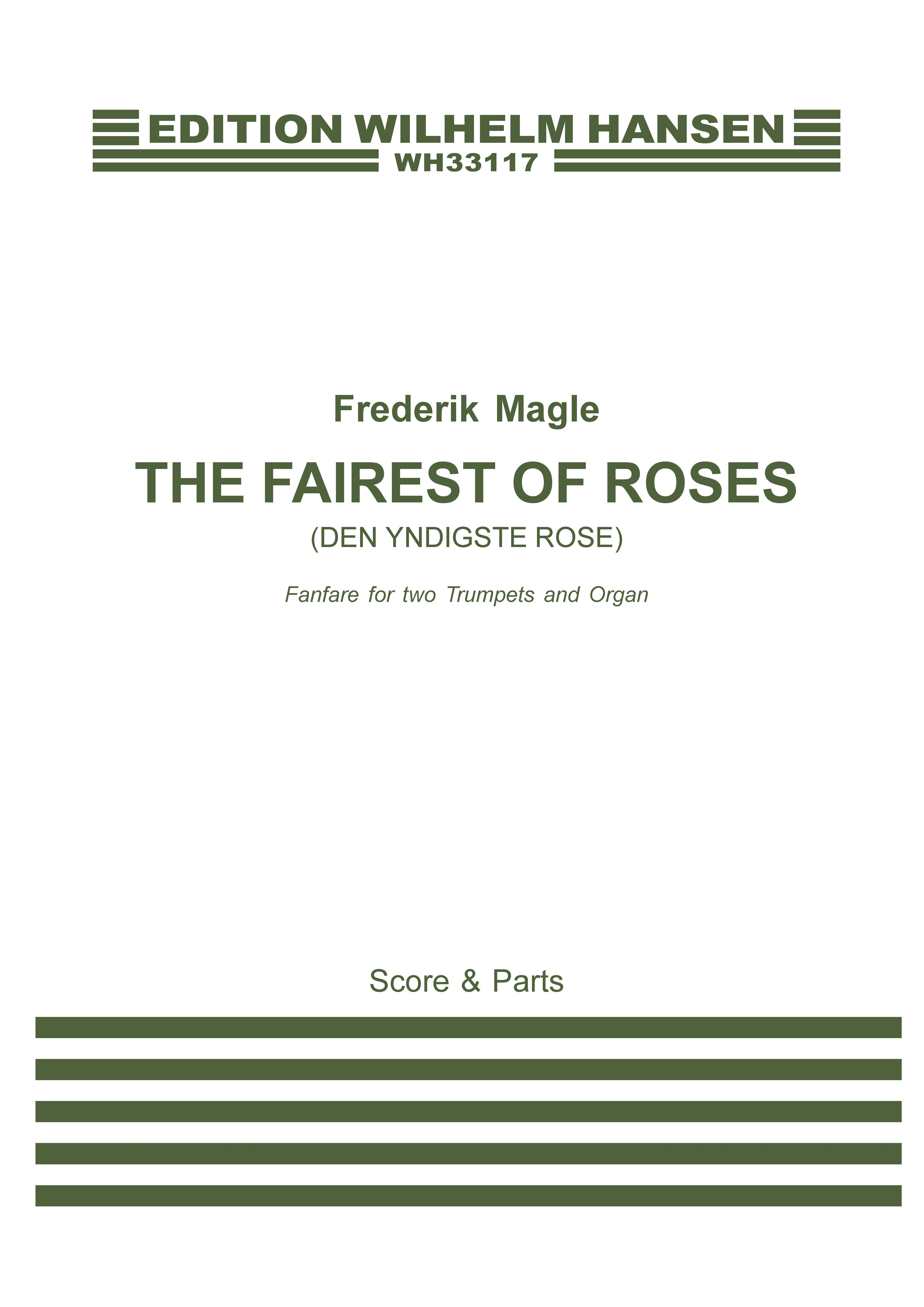 Frederik Magle: The Fairest of Roses: Trumpet Duet: Score and Parts